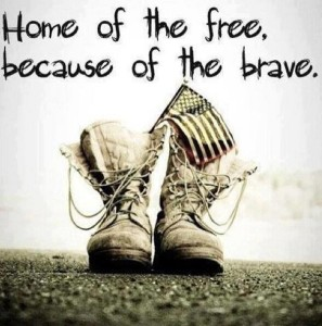 PHOTO 4th of July Freedom Home of the free bec of brave