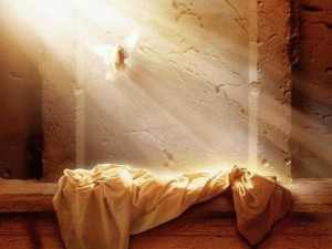 PHOTO He IS Risen dove
