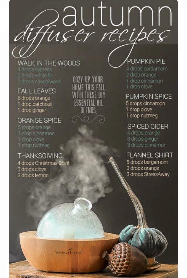 Diffusing Fall inspirations
