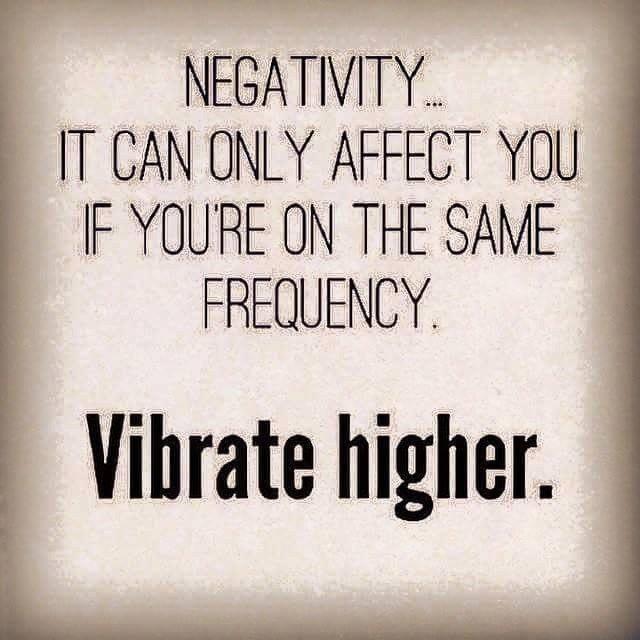 Photo negativity vibrate higher