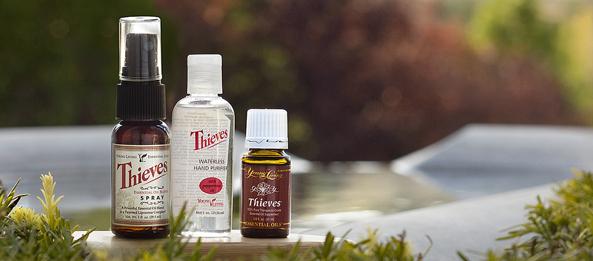 thieves TRIO spray hand sanitizer eo