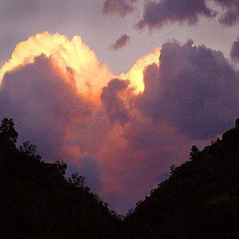 Photo heart cloud