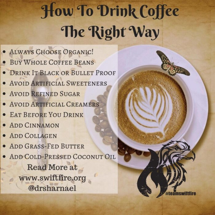 COFFEE the right way